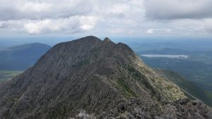 After crossing the knifes edge Katahdin, ME